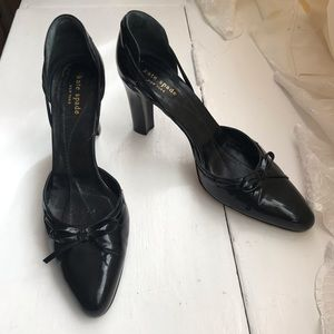 Kate Spade Modello d'Orsay Patent Leather Pumps